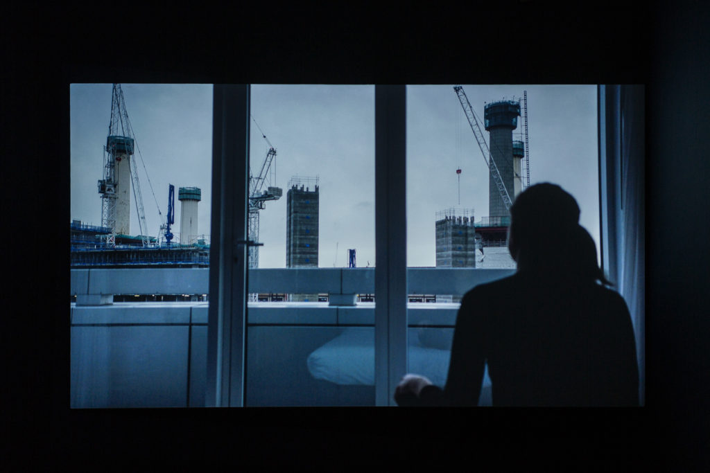 Film still from 'Dream City – More, Better, Sooner' by Alice May Williams. Image courtesy the artist.