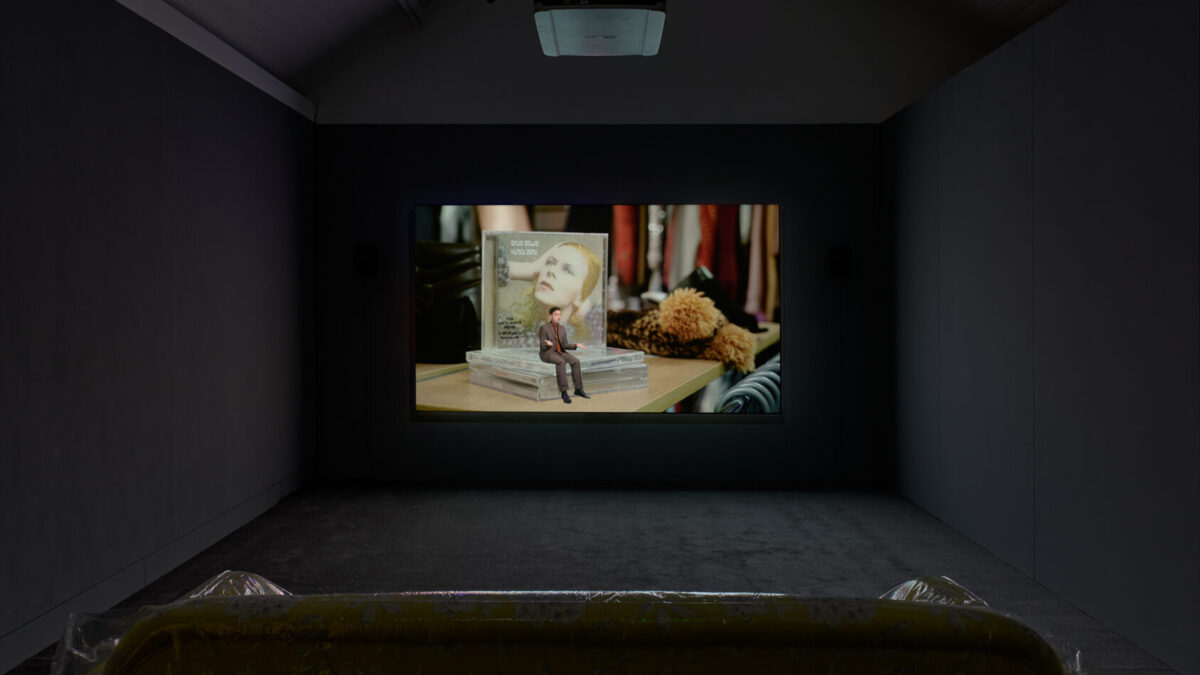 Guy Oliver, You Know Nothing of My Work, 2020. Commissioned for Jerwood/FVU Awards 2020: Hindsight. Installation view at Jerwood Space. Photo: Anna Arca