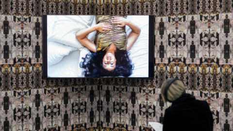 Cinzia Mutigli, I've Danced at Parties, 2021. Preview at Jerwood Arts. Survey II is led by Jerwood Arts in collaboration with g39 and Site Gallery. Photo: Hydar Dewachi.