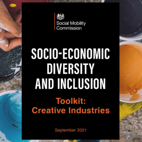 Social Mobility Commission launch Creative Industries Toolkit